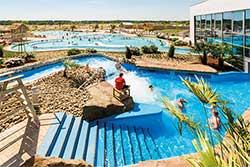 Widlwaterbaan Tropisch Zwemparadijs Tropical Islands - Waterpark Duitsland