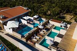 Hotel met privé zwembad - Zante Flower Deluxe op Zakynthos