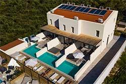 Hotelkamers met privé zwembad - Zante Flower Deluxe