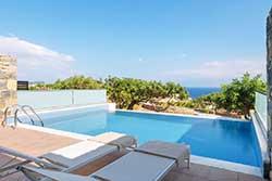 Hotelsuite met privézwembad - Miramare Resort & Spa op Kreta