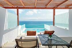 Superior hotelkamer met privézwembad - Miramare Resort & Spa op Kreta