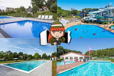 11x de leukste vakantieparken met buitenzwembad