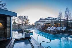 Wellnesstuin Athermen - Wellnesshotel Amadore Hotel Restaurant Kamperduinen