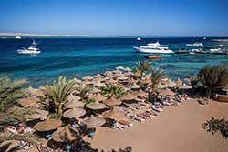 Strand van Duikresort Bella Vista Resort - Hotel met Huisrif en duikschool in Egypte