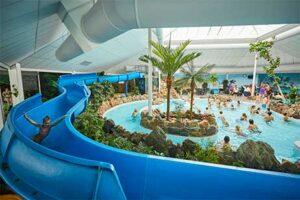 Subtropisch zwembad Vakantiepark de Leistert in Roggel - Vakantiepark met subtropisch zwembad