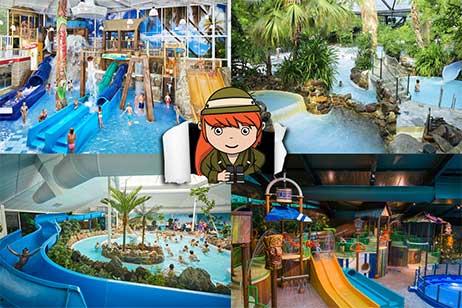 De leukste tips voor een vakantiepark met subtropisch zwembad