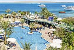 Zwembad Duikresort Bella Vista Resort - Hotel met Huisrif en duikschool in Egypte
