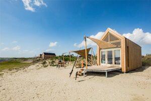 Eco cottage - Qurios Eco Grevelingenstrand - Kleinschalig vakantiepark in Nederland