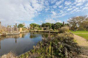 Kleinschalig vakantiepark aan zee - Fort den Haak - Tuin