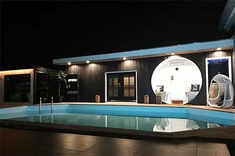 Privé sauna met zwembad - zwembad van privé wellness byonz in Groningen