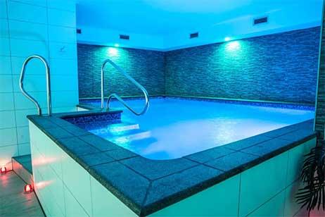 privesauna met zwembad - zwembad prive relax center Zaanstad