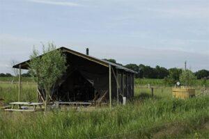Bijzondere overnachting Veluwe - Boerenbed tent met hottub bij Landhoeve Op de Veluwe