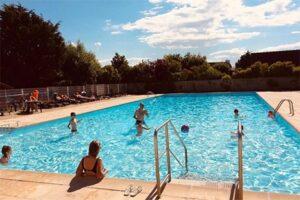 Buitenzwembad Zeepark Zeewind - Vakantiepark aan de Belgische kust
