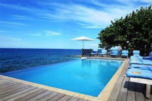 Infinity Pool Curacao - Scuba Lodge Ocean Suites - Curacao Boutique Hotel