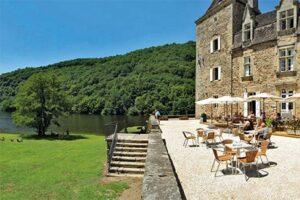 Kasteelcamping Frankrijk - Camping Château Du Gibanel