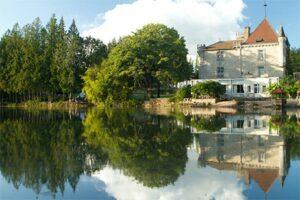 Kasteelcamping Frankrijk - Château Le Verdoyer