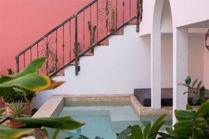 Klein zwembad - Boho Bohemian Boutique Hotel in Pietermaai - Boutique Hotel Curacao