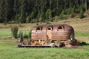 Natuurhuisje Duitsland - Igluhut Tiny House Winterberghof in Vohrenbach Zwarte Woud