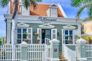 Pietermaai Boutique Hotel Curacao - Aanzicht