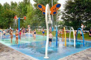 Spraypark Kustpark Strand Westende - Vakantiepark aan de Belgische kust