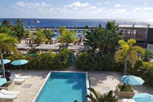 The Beach House Boutique Hotel op Curacao - Mambo Beach - Zwembad