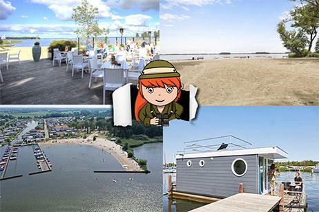 5x vakantieparken aan het Veluwemeer met strand