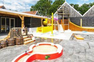 Waterspeeltuin op recreatiepark Kaps - Camping met waterspeeltuin in Twente