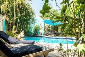 Zwembad Pietermaai Boutique Hotel op Curacao