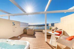 Appartement Viva Blue Spa Mallorca - Luxe Kindvriendelijk appartement met bubbelbad
