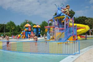 Camping met Waterpark - Camping Union Lido in Italië - Kinderbad