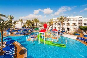 Splashworld Globales Bouganvilla - Kindvriendelijk hotel Mallorca met glijbanen