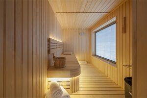 Wellness Suite Van der Valk hotel Haarlem - Grote Sauna
