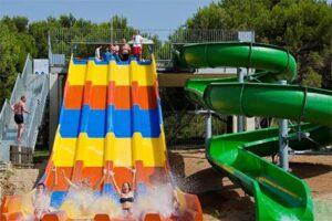 Kindvriendelijk hotel met glijbanen - Menorca Club Hotel Aquamarina - Glijbanen