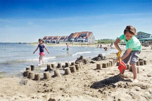 Huisje aan zee - Strand bij Landal Port Greve