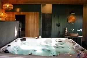 Natuurhuisje met spabad en sauna - Wellness Wechtertje in Wijhe