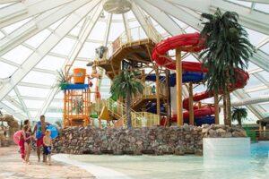 Vakantiepark in Denemarken - Lalandia Rodby - Zwemparadijs