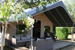 Bijzonder overnachten Schiermonnikoog - Safaritent Country Camping de Kooiplaats