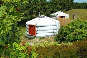 Bijzonder overnachten Texel - Texel Yurts