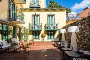 Castanheiro Boutique Hotel Romantisch hotel in Funchal op Madeira