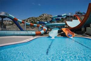 Splashworld Porto Bello Beach - Kindvriendelijk hotel met glijbanen Kos