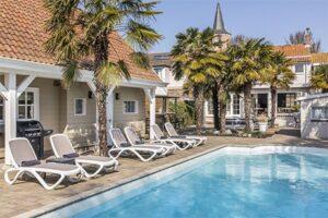 Boutique hotel in Zeeland - De Heerlijkheid van Noordwelle met zwembad