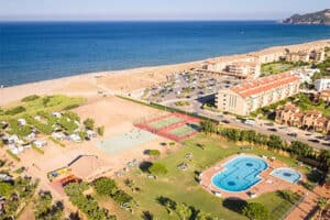 Camping Costa Brava aan strand - Camping Playa Brava