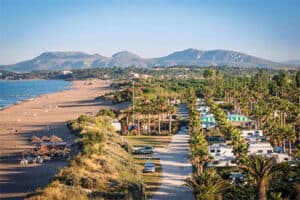 Camping Costa Brava aan zee - Camping Las Dunas