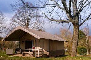 Camping Ettelbruck - glamping in Luxemburg - safaritent