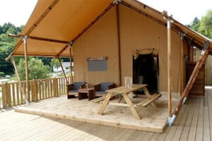 Camping Kaul - Glamping in Luxemburg - Glampingtent