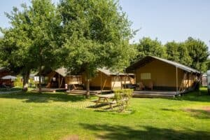 Camping Val d'Or - Glamping Luxemburg - Safaritent