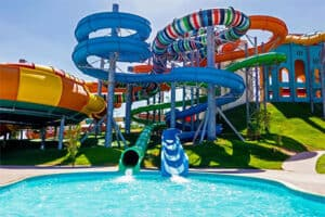 Jaz Aquaviva resort - hotel Egypte met swim up kamers