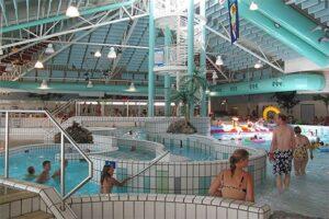 Subtropisch zwembad de Wilder bij Camping Scholtenhagen