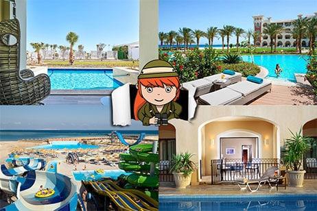 5x de mooiste swim up kamers in Egypte
