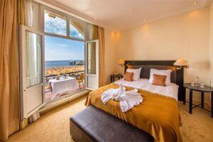 Grand Hotel Amrath The Hague Scheveningen - hotelkamer met zeezicht